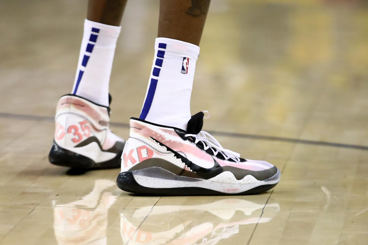 new style 914e8 6584e Kevin Durant's Playoff Shoes Are Being Curated By Don C