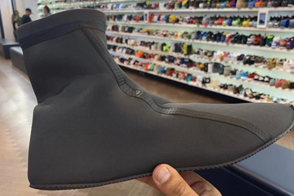 huge discount 4d8f6 be997 Kanye West's Sock-Like YEEZY Is A Prototype: Closer Look