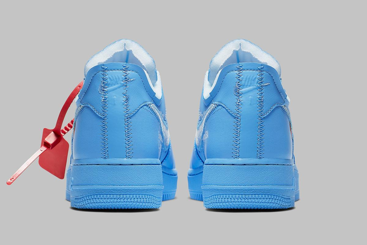 Off White X Nike Air Force 1 Low Mca Official Images Revealed