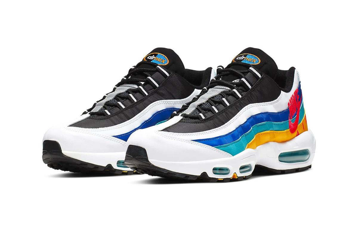 d1a0ac2ece Nike Air Max 95 Brings The Vintage Windbreaker Vibes With New Colorway