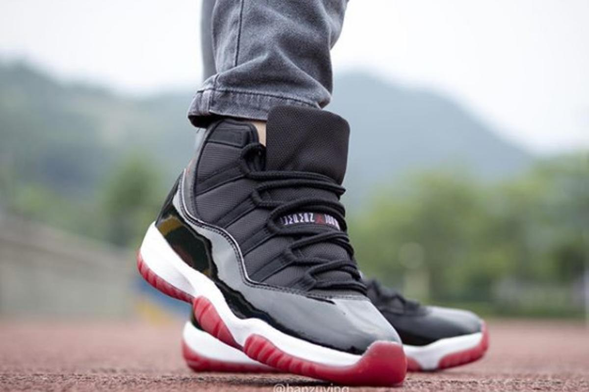 2019 Air Jordan 11 Bred Best Look Yet At The Returning Classic