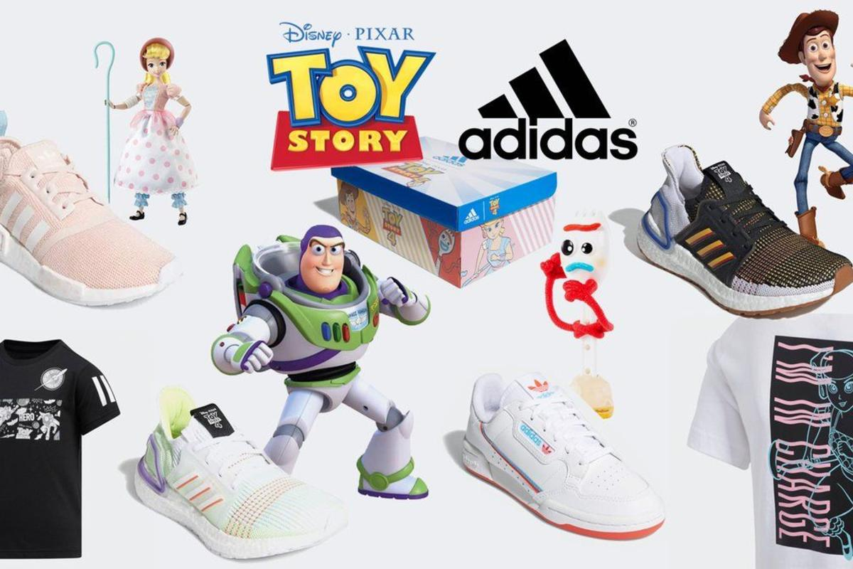 5d6cf792328491 Toy Story x Adidas Sneaker Collection Releases Today: Where To Cop
