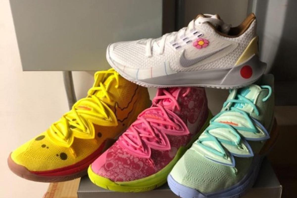 Nike Kyrie x SpongeBob Full Sneaker Collection Revealed