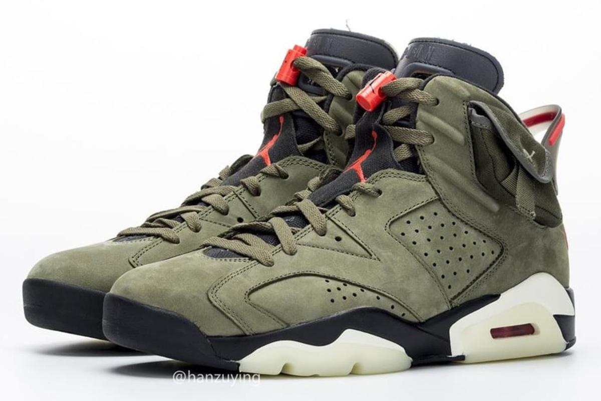 quality design 5a083 3c24e Travis Scott x Air Jordan 6 Rumored Release Date Unveiled