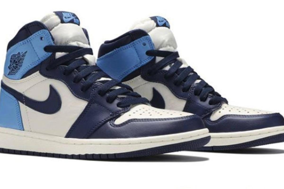 Air Jordan 1 High Og Unc Obsidian Coming This Month Detailed Look