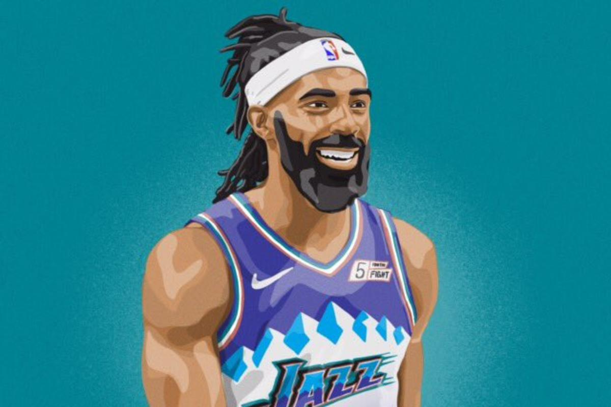 the best attitude d1bfc 4ae08 Utah Jazz Confirm Purple Mountain Throwback Uniforms For ...