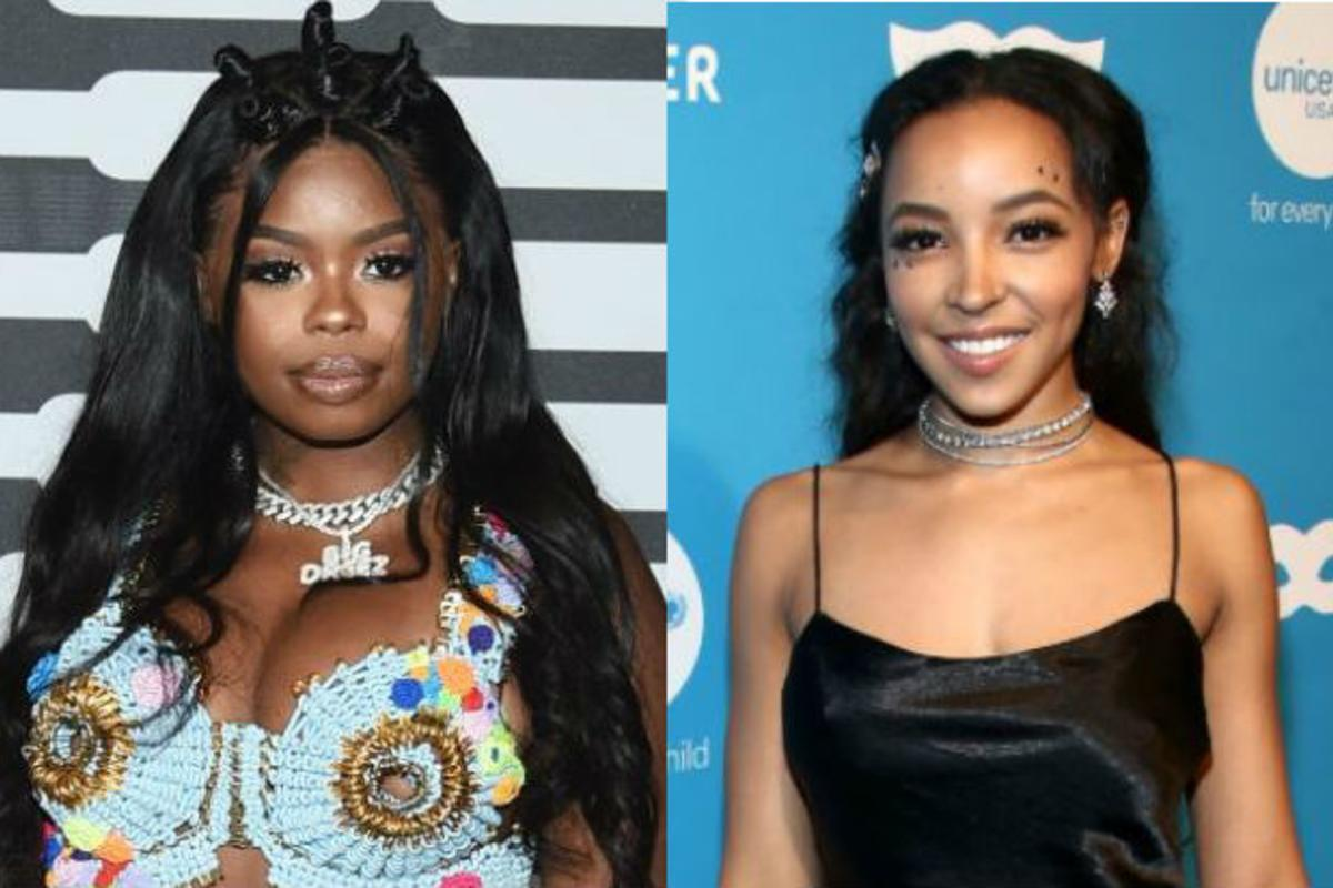 Angela Molina Sexy tinashe & dreezy are ladies in lingerie as savage x fenty